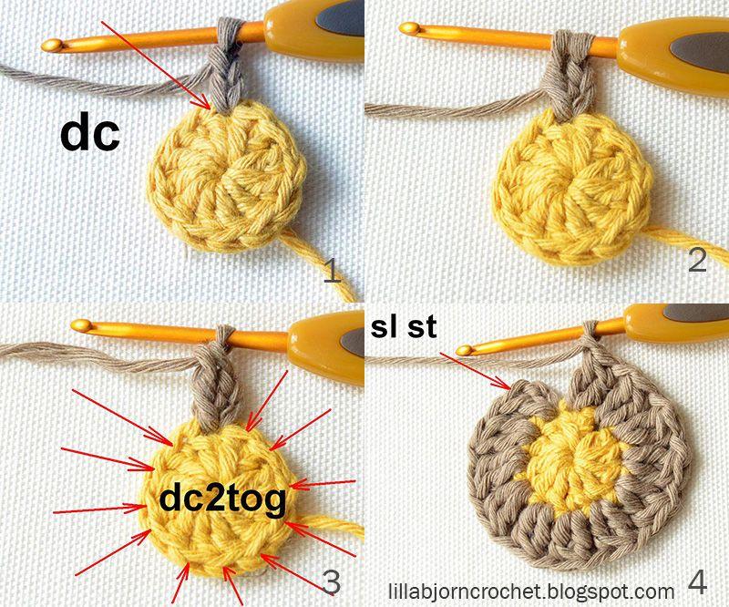 Circles of the Sun Mystery CAL 2015 - overlay crochet - Block 1 ...