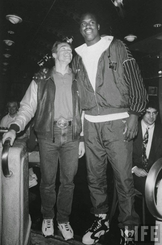 Arnold Schwarzenegger e Shaquille O'neal
