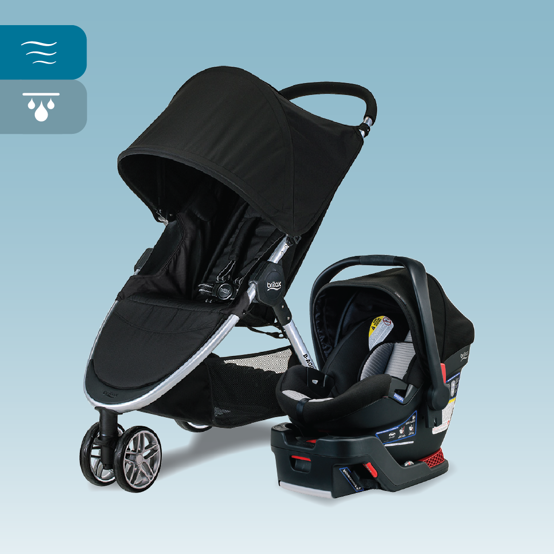 Britax BAgile And BSafe 35 Dual Comfort Travel System