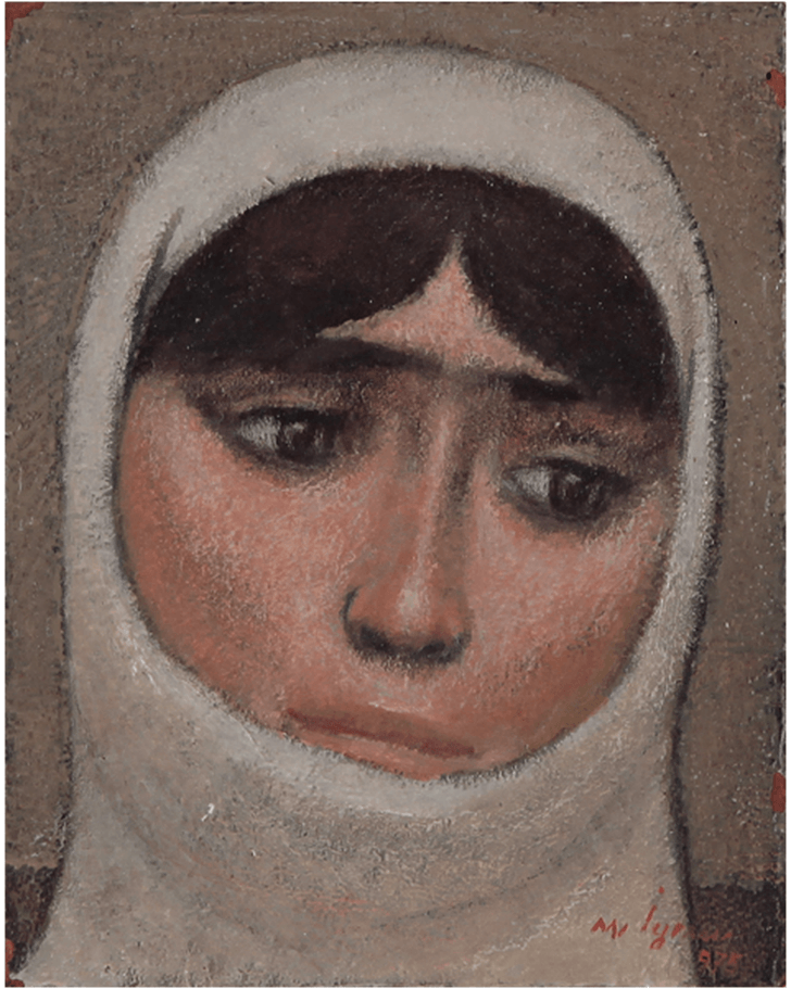 Nuri Iyem Kadın Portre Türk Ressamlar Portre Resimleri Portre