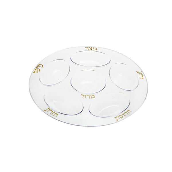 Simcha Plastic Seder Plate Clear/Case of 24 Tags Seder Plates; Simcha Collection  sc 1 st  Pinterest & Simcha Plastic Seder Plate Clear/Case of 24 Tags: Seder Plates ...