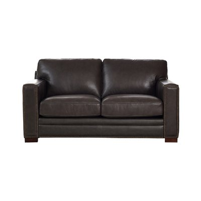 Trent Austin Design Neil Leather Loveseat Products Leather