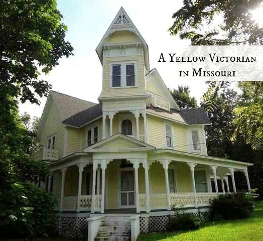 Victorian Carriage House: Save This House: A Yellow Victorian For Sale In Missouri