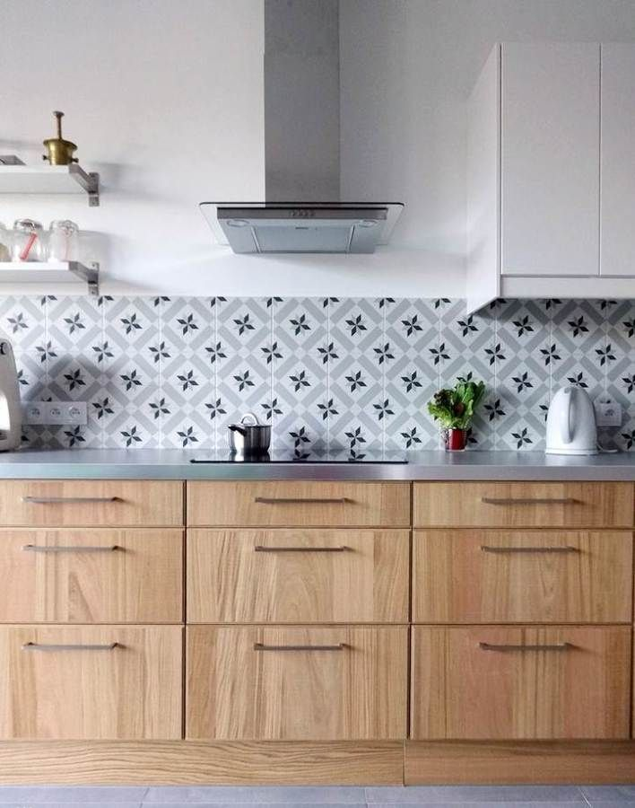 Vinilo forntal cocina c u i s i n e cocinas peque as - Revestimiento de vinilo ...