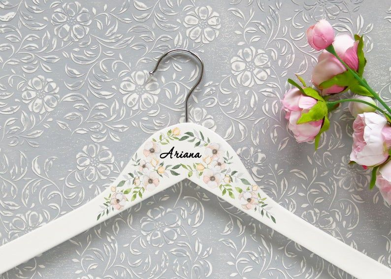 Photo of Bridesmaid hangers – bridal hanger hanger …