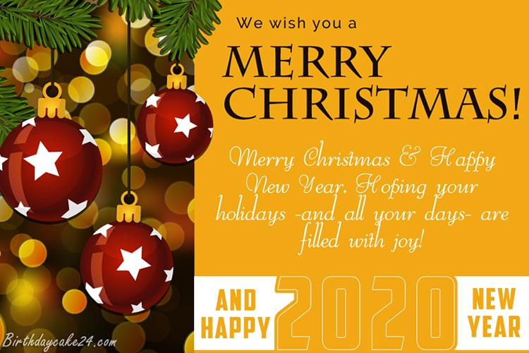 Looking For Personalized Christmas And New Year 2020 Greeting Cards For Free Send Chri Merry Christmas And Happy New Year Christmas Cards Free Merry Christmas