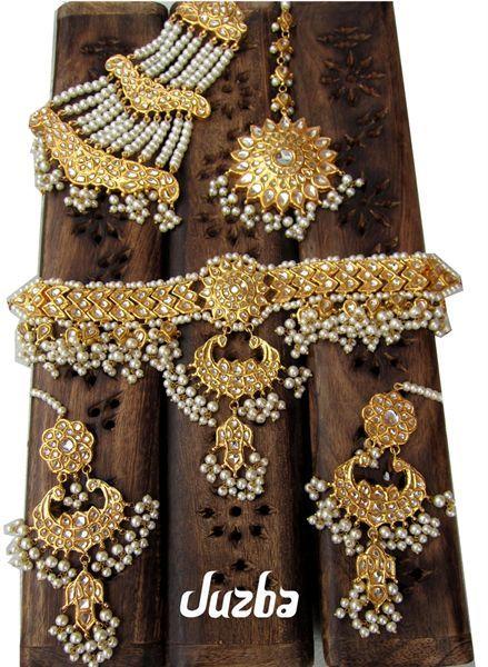 Juzba Indian Jewellery Designer Kundan Bridal Choker Set Uk