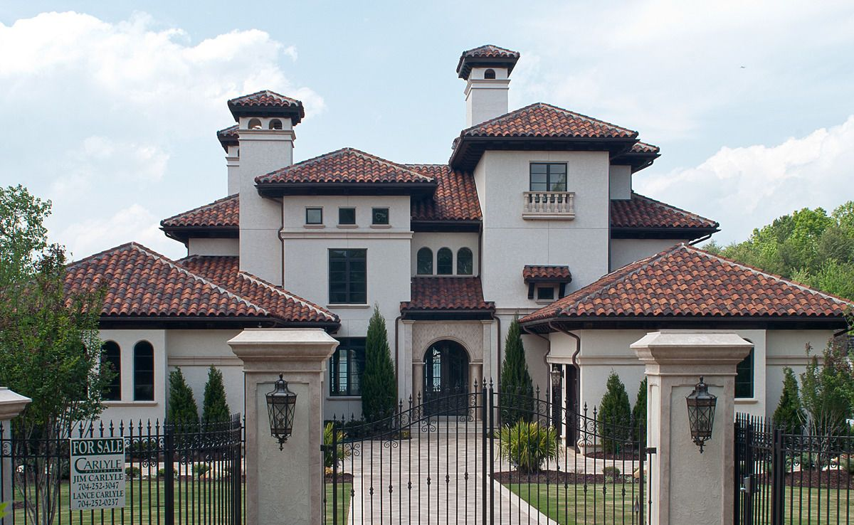 Houses with a tile roof google search home decore pinterest discover all the information about the product roman roof tile clay 18 straight barrel mission ludowici and find where you can buy it dailygadgetfo Image collections