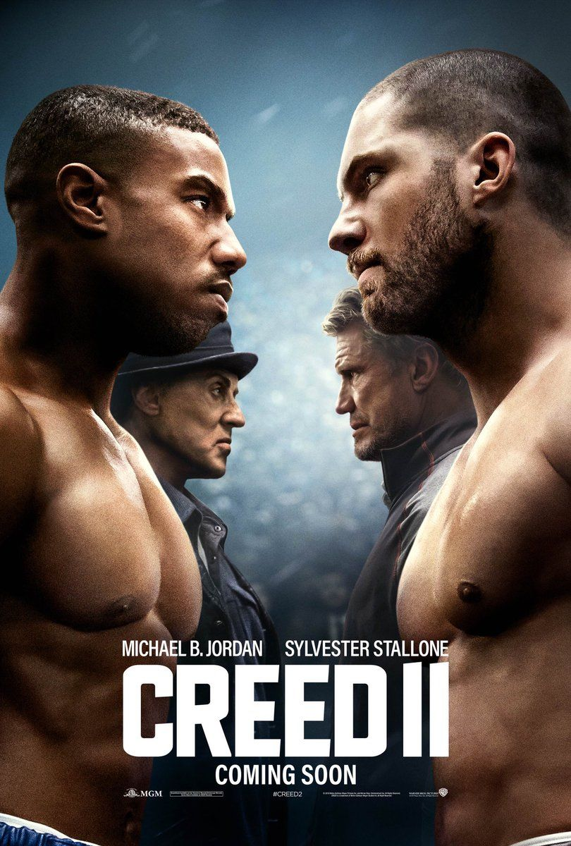New Creed Ii Poster Teases The Epic Showdown Between Creed Rocky And The Dragos Geektyrant Filme Creed Creed Filme Assistir Filmes Dublado