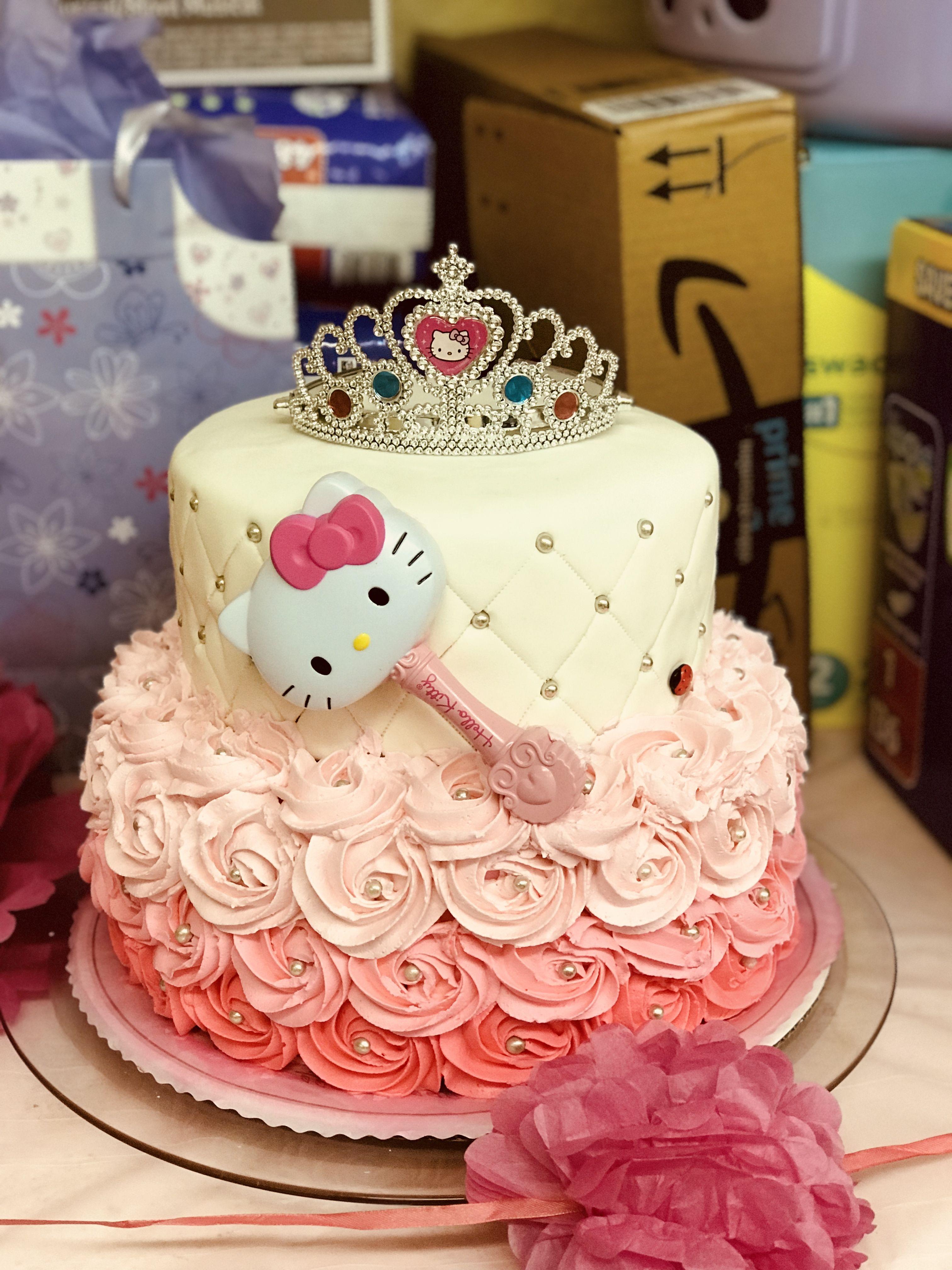 Hello Kitty princess cake | Princess kitty, Princess cake ...
