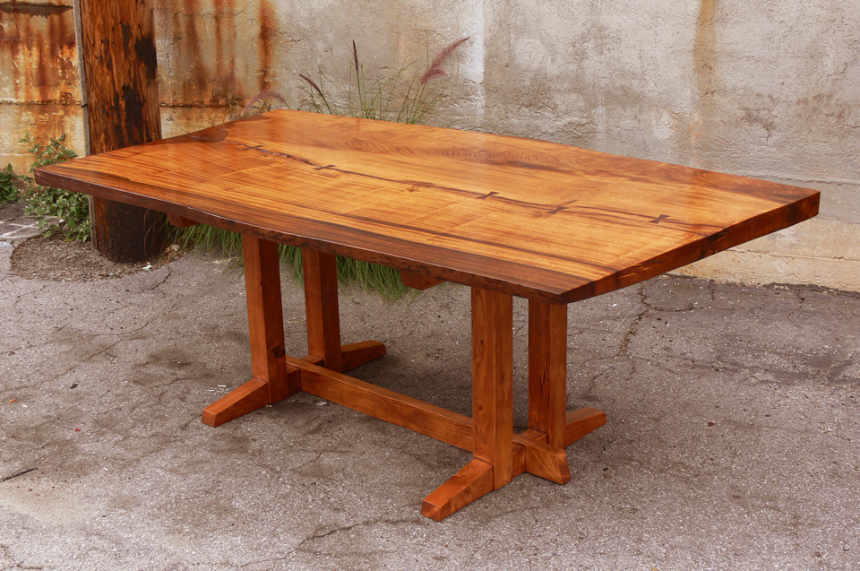 Offerman Woodshop Nakashima Style Dining Table » Offerman Woodshop