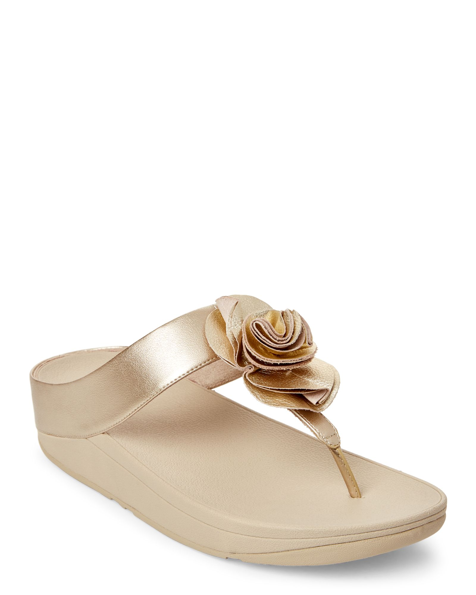 424dd90c1 Pale Gold Florrie Toe-Post Thong Sandals in 2018