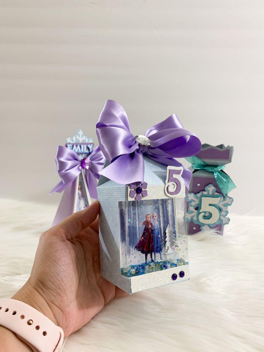Frozen birthday luxury favor box, frozen party decoration