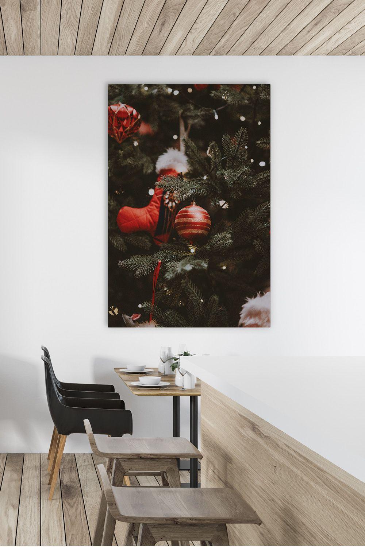 Weihnachten Dekoration mit Geschmack