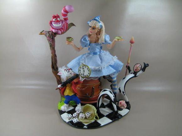 Lembranca Alice No Pais Das Maravilhas Con Imagenes Porcelana