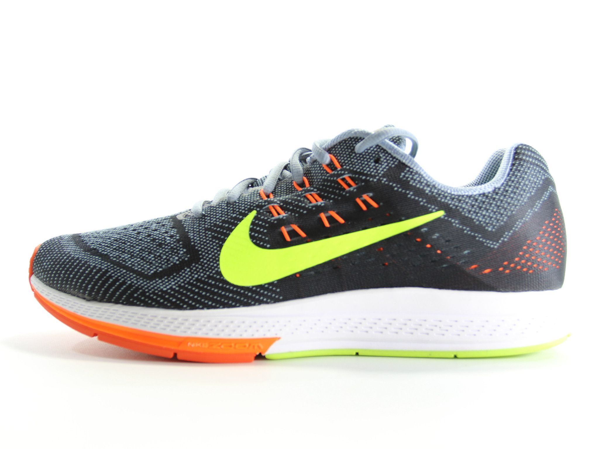 NIKE Air Zoom Structure 18 Running Shoes Size 11.5 (Grey/Black/Hyper-