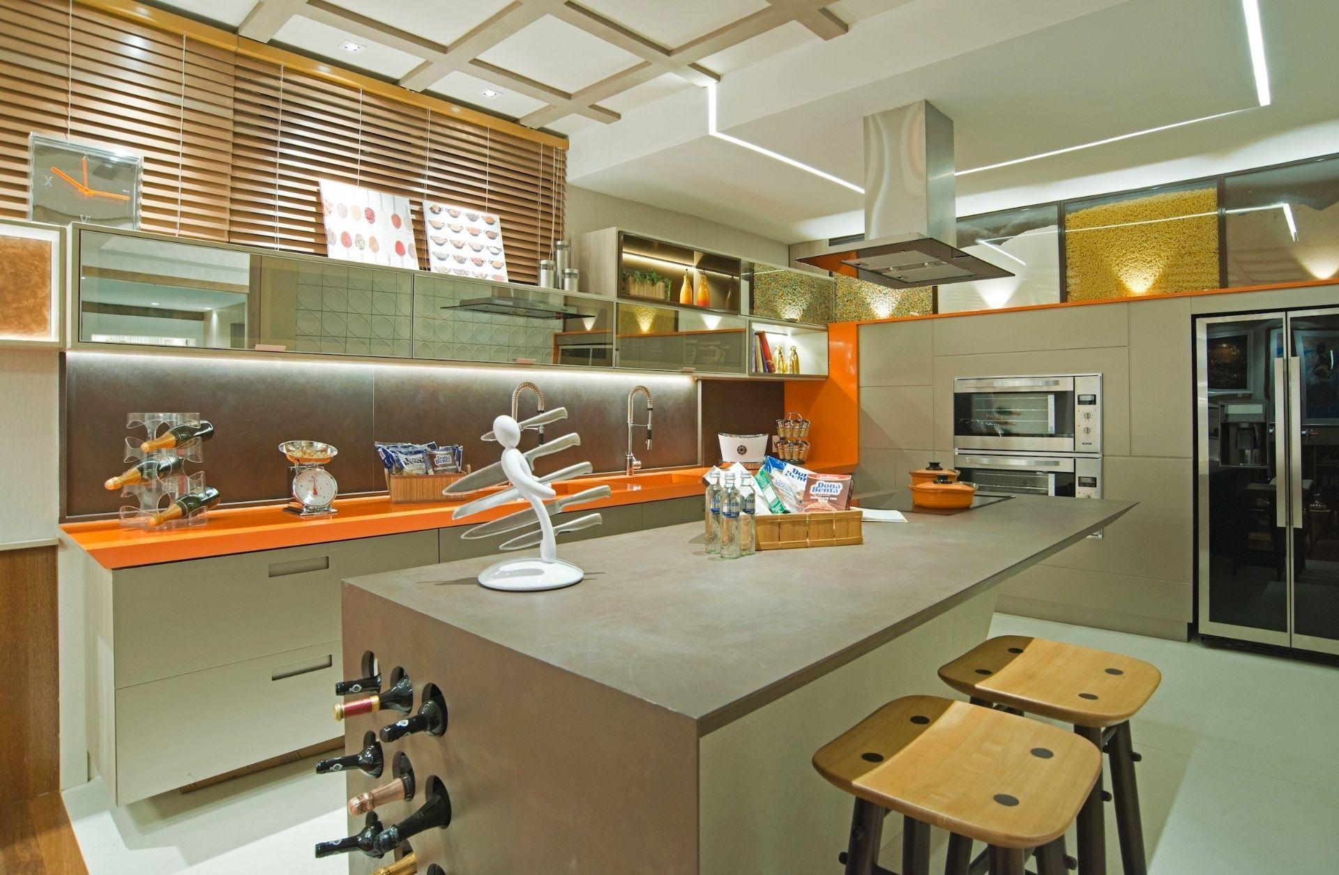 Cozinha Americana Simples Decorada Good Cozinha Americana With