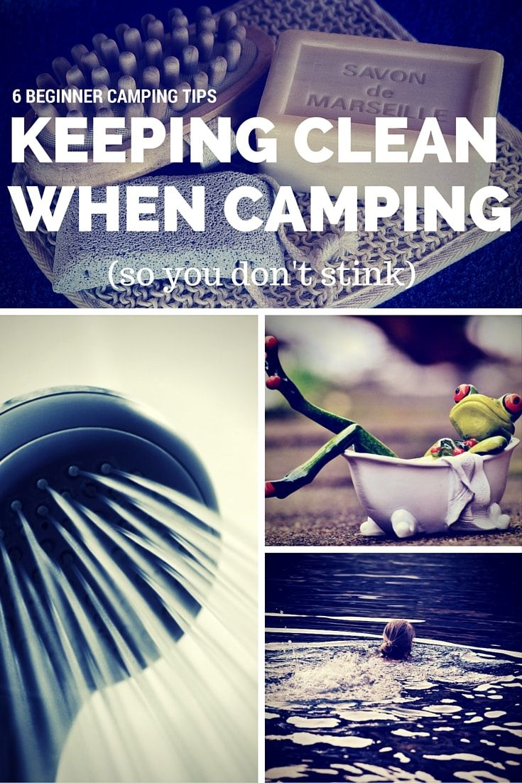 Photo of 6 Beginner Camping Tips to Help You Keep Clean