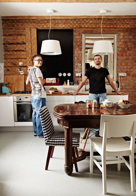 #cozinhas #rusticas #rustic #kitchen #bricks #tijolos