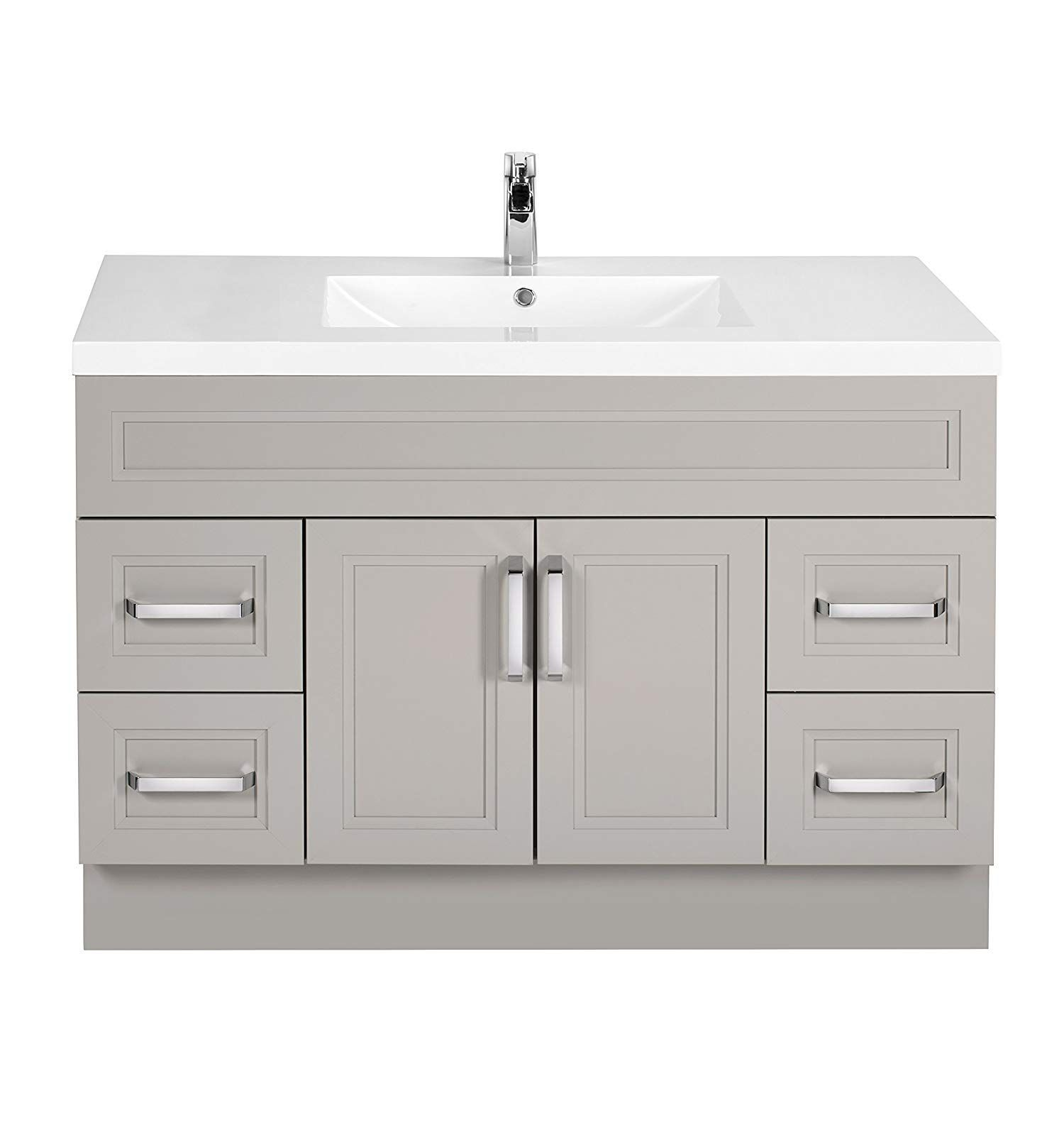 Cutler Kitchen And Bath Silhouette 30 In Wall Mount Bathroom