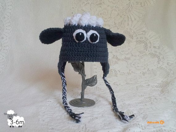 ea03bdd27be Shaun The Sheep Hat by cladncute on Etsy