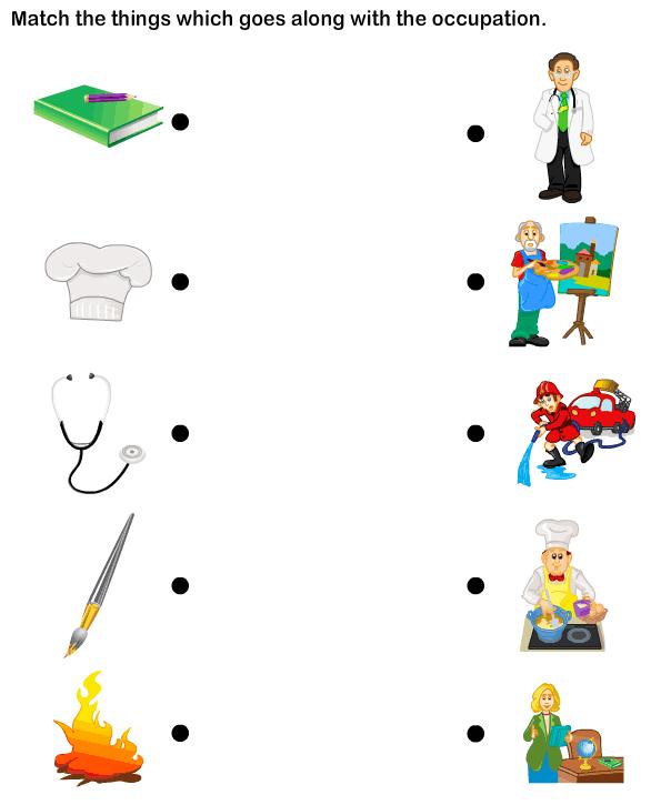 Evs Worksheets For Ukg Community Helpers Worksheets, Community Helpers  Preschool, Community Helpers
