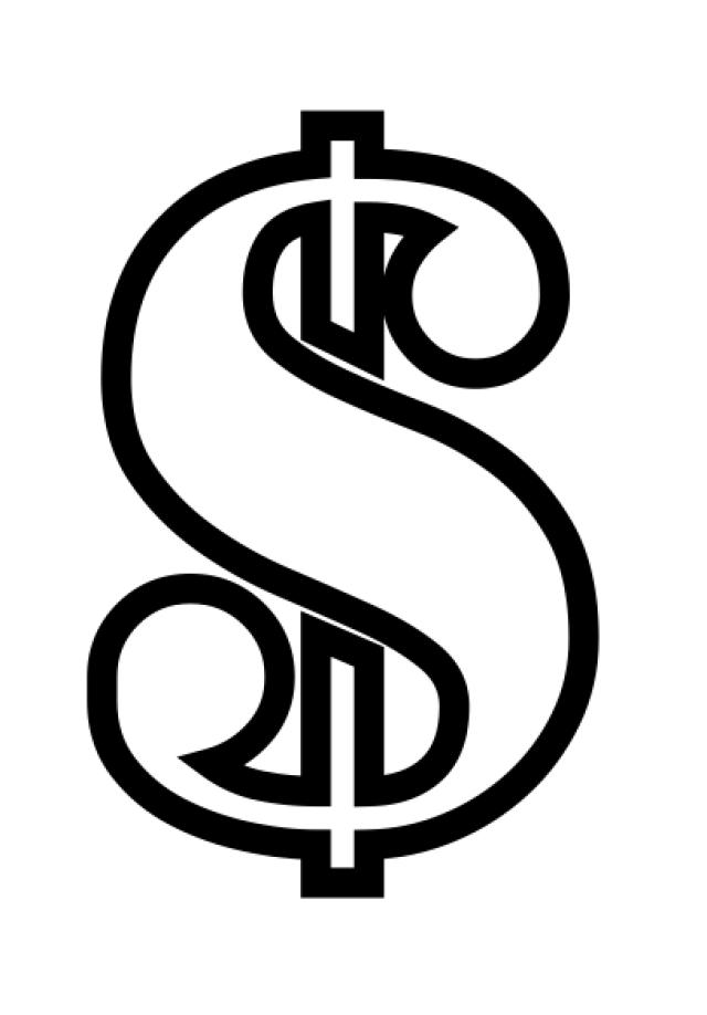 Plantillas de stencil de números y símbolos gratis para imprimir ...