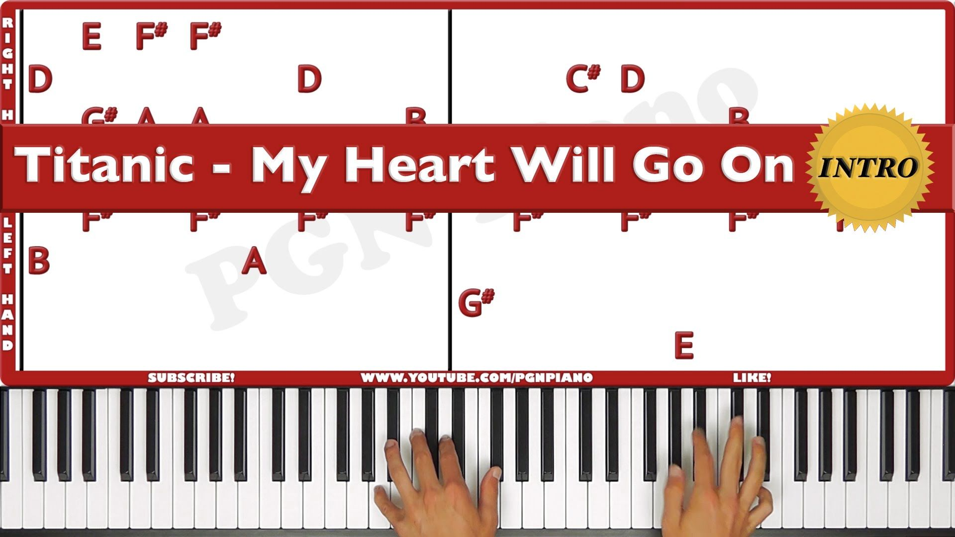 original how to play titanic my heart will go on piano original how to play titanic my heart will go on piano tutorial less hexwebz Choice Image