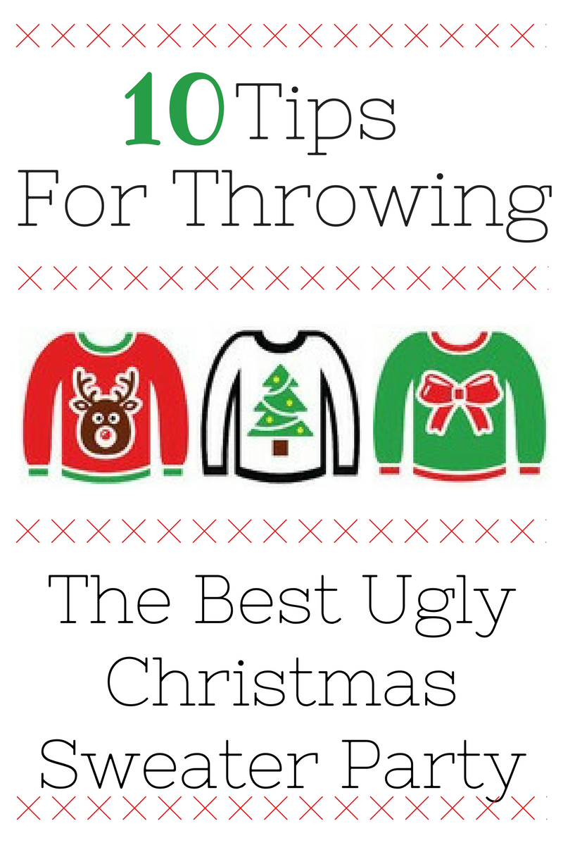 c4d27ec6e1 I can't wait to throw my Christmas party with these awesome ugly sweater  Christmas party Ideas for every budget!