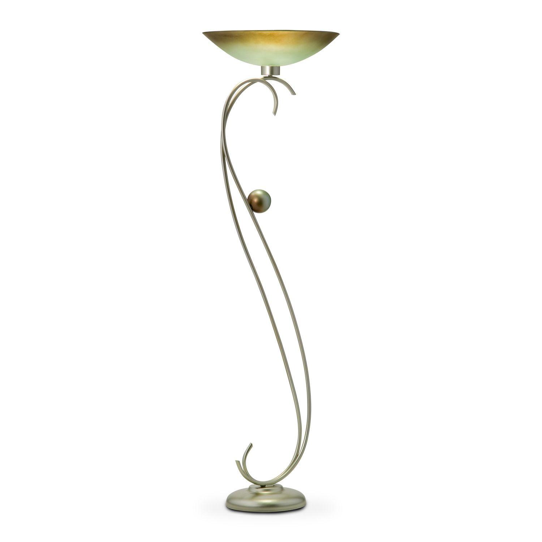 catalina floor lamp | value city furniture | glam time | pinterest