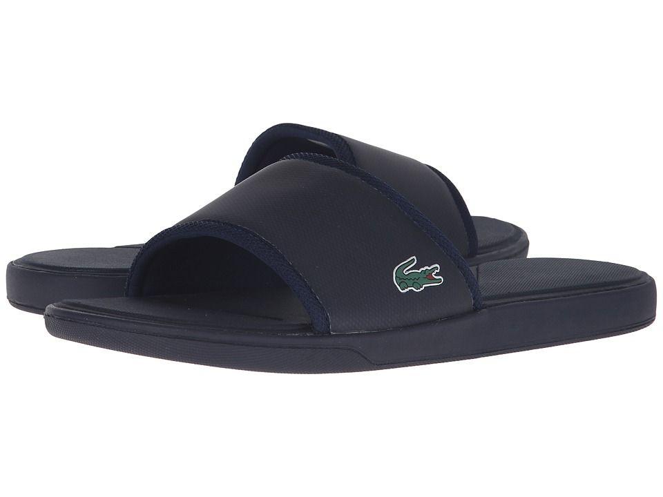 5fc046c1f LACOSTE LACOSTE - L.30 SLIDE SPORT SPM (NAVY) MEN S SHOES.  lacoste  shoes