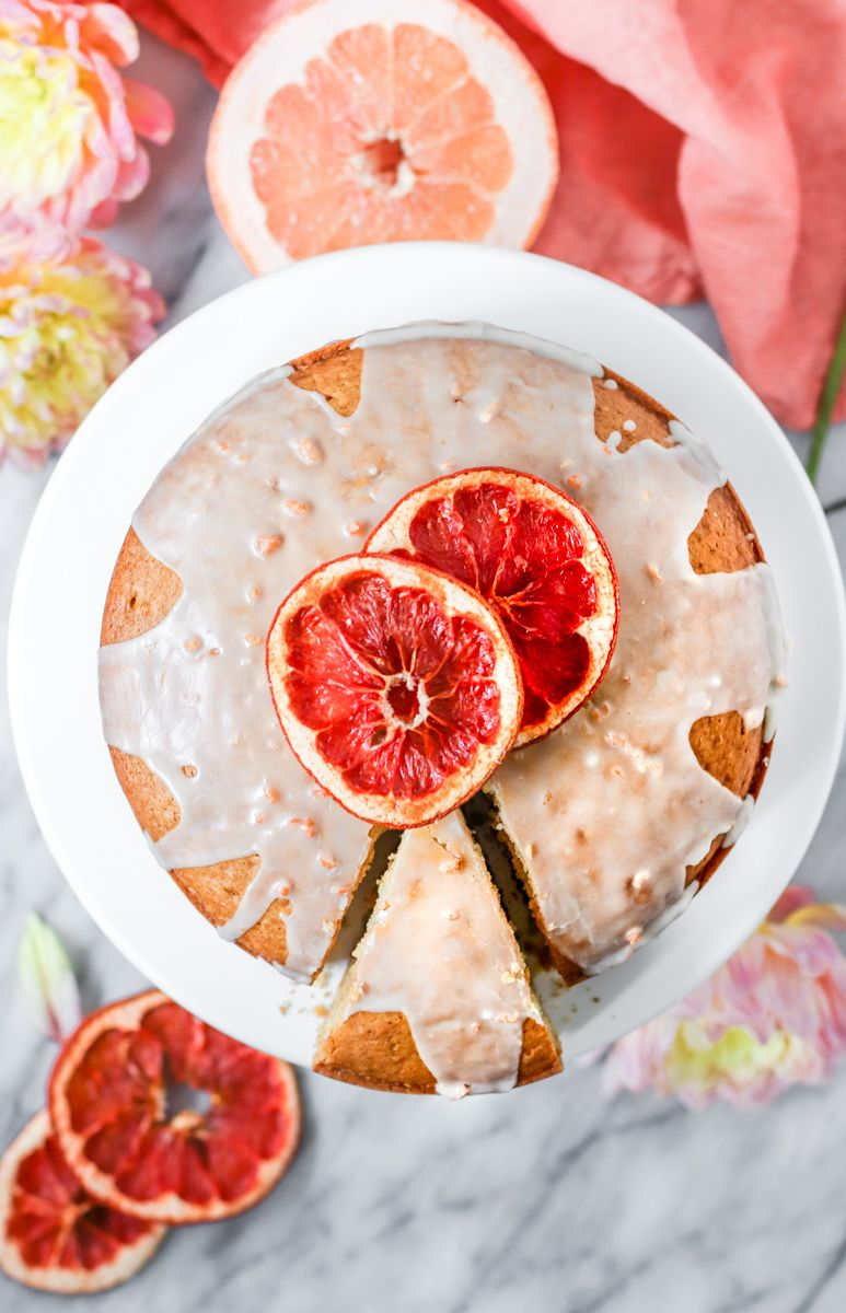Vegan Grapefruit Olive Oil Cake is your new favorite vegan