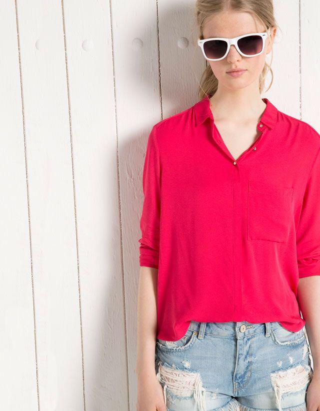 Chemises & blouses - Bershka - Woman - Bershka France