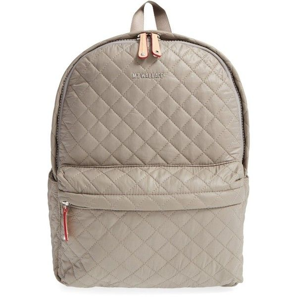 657b28e178 Women s Mz Wallace  Metro  Quilted Oxford Nylon Backpack ( 245) ❤ liked on  Polyvore featuring bags