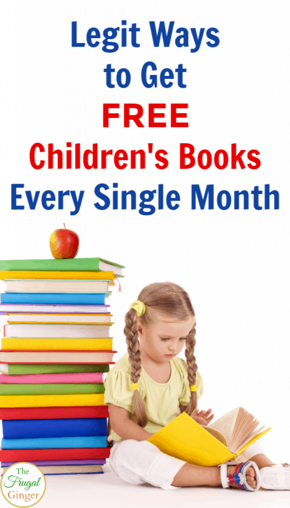 Legit Ways to Get Free Children's Books Every Month! (With