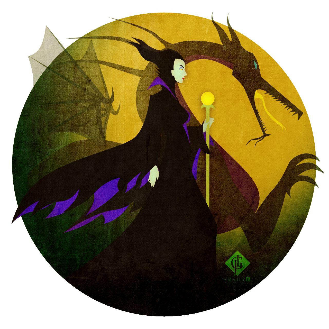 Maleficent by Ylden