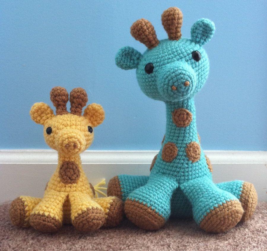 Crochet Giraffe The Cutest Ideas Ever | Stofftiere, Stickvorlagen ...