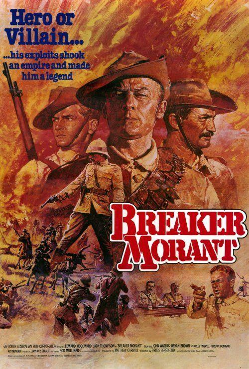 Breaker Morant 27x40 Movie Poster (1980) in 2020 Movie