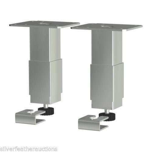 Superieur 4 Ikea Utby Stainless Steel Adjustable Cabinet Legs Feet Leveling Bottoms  NEW #IKEA #UtbyLegs #CabinetLegs