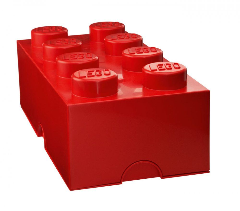 The LEGO Storage Brick 8 - Red provides an interesting angle on tidying up - it is like playing. You can actually stack the storage boxes like you are used ...  sc 1 st  Pinterest & LEGO® Storage box 8 ?ervená | MALL.SK | Baby | Pinterest | Lego ...