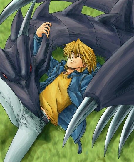 Joey And Red Eyes Black Dragon