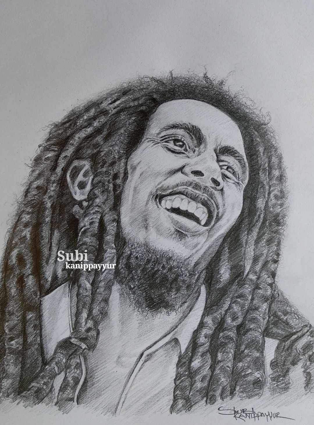 Bob marley my pencil drawing in 2019 pencil drawings sketches
