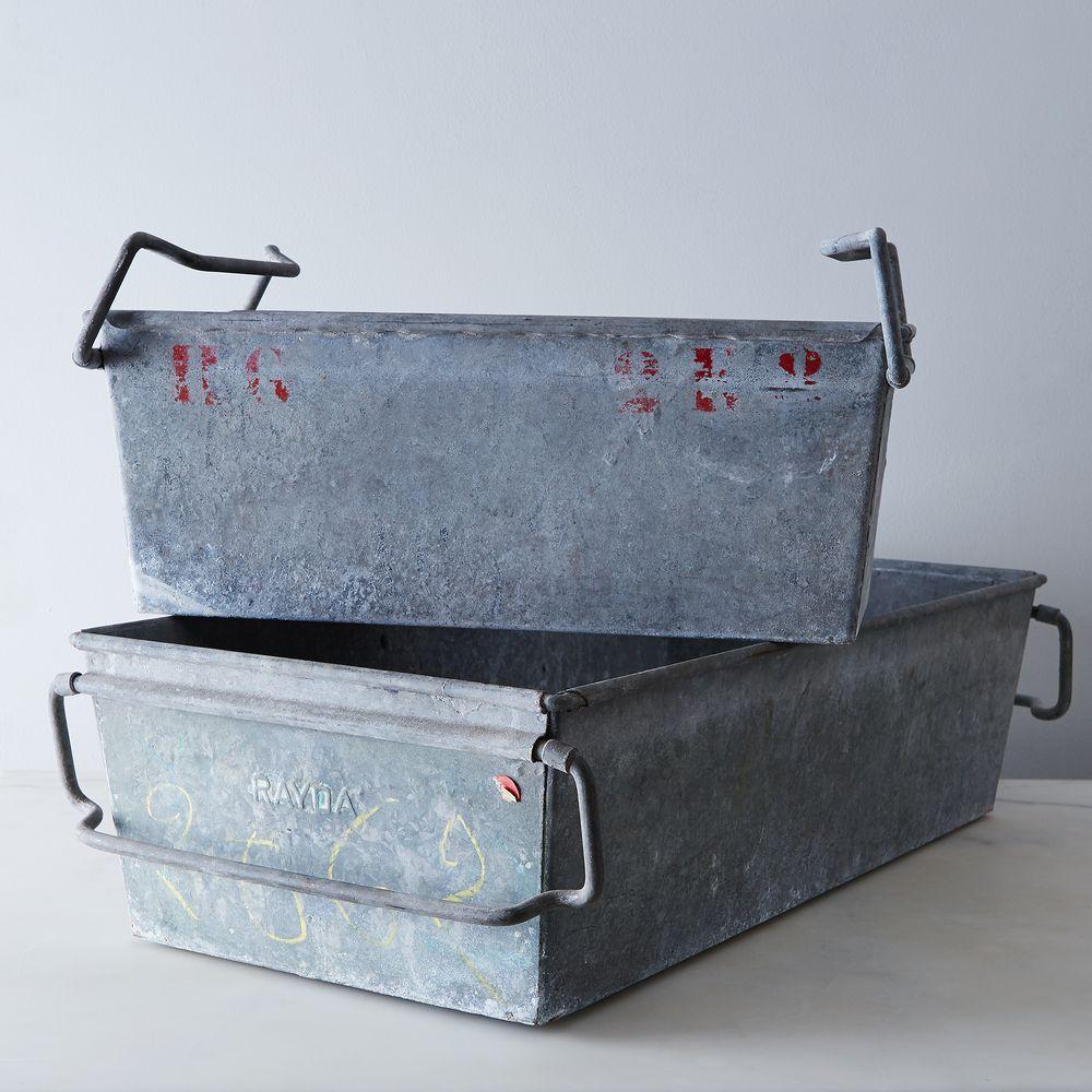 Metal Bins -- Storage & Organization