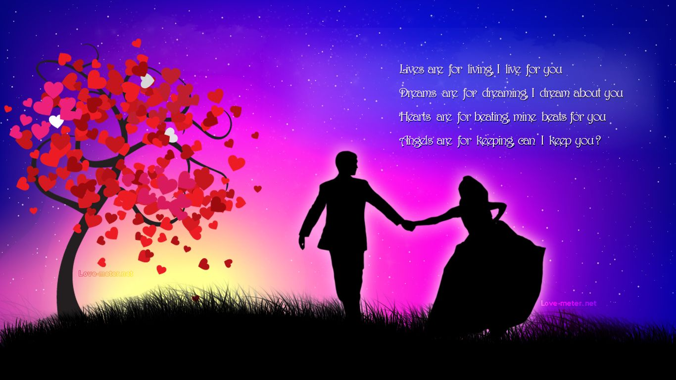 Romance Images Love New Romantic Tree Of Love Full Hd Wallpaper 8940 Just Anoth Goodnight Quotes Romantic Romantic Good Night Romantic Good Night Messages