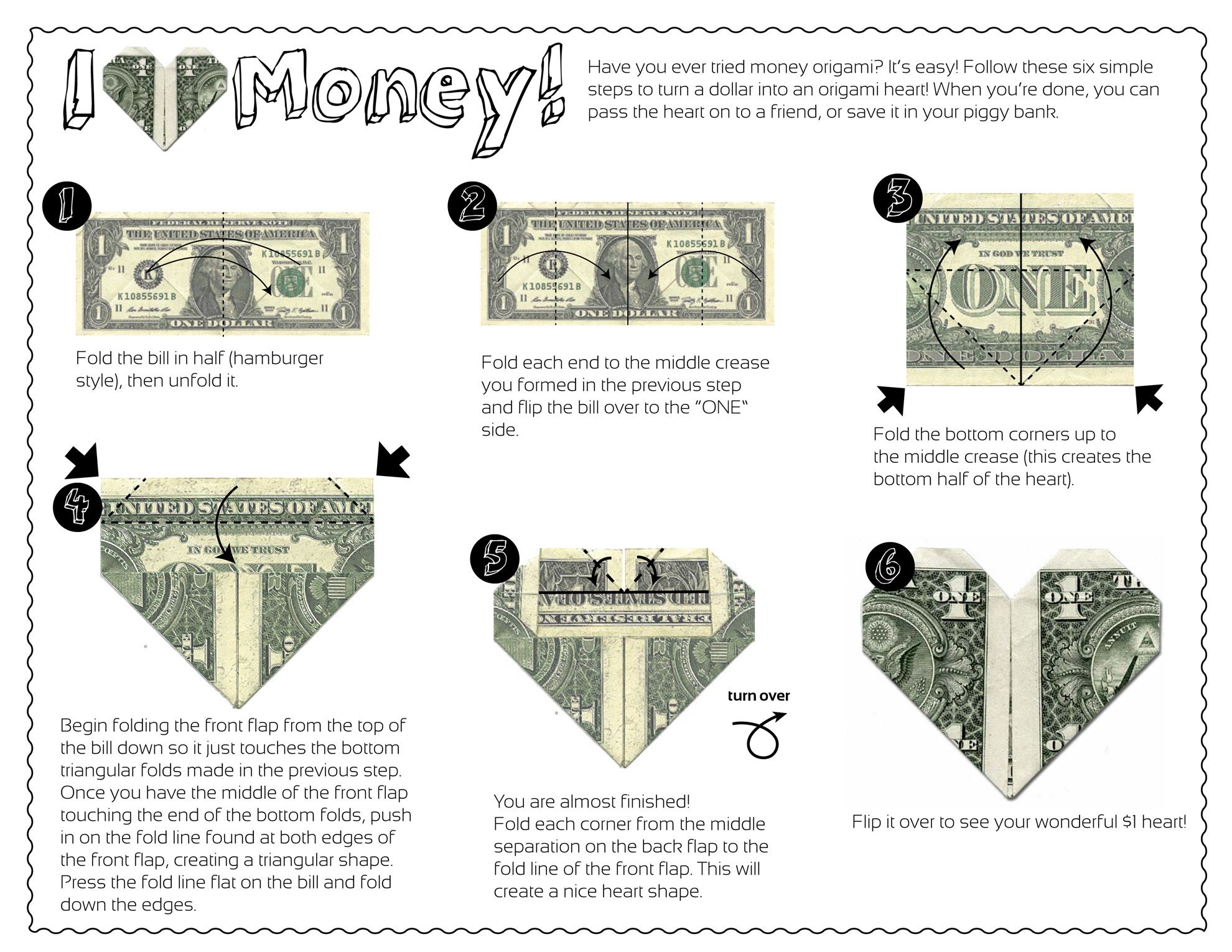 Follow these six simple steps to turn a dollar into an ... - photo#37