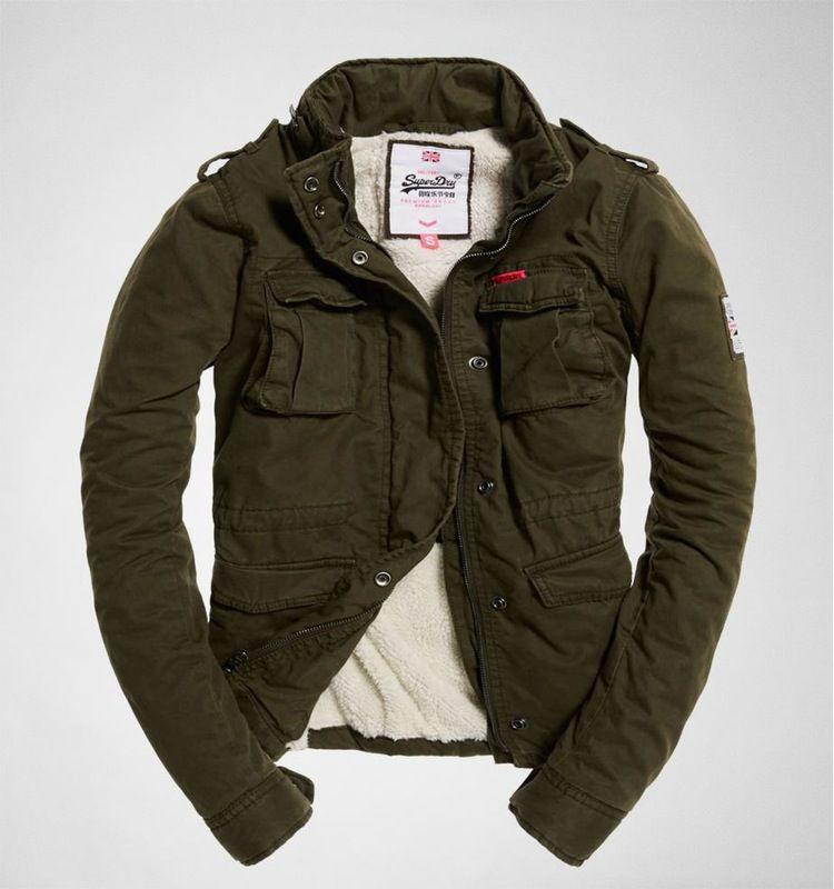 dernière sélection plus grand choix de coût modéré Meine neue lieblings Jacke Superdry Winter Rookie Military ...
