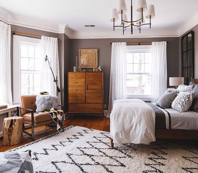 Art Deco Bedroom Suite Bedroom Paint Ideas For Small Bedrooms Bedroom Colors Black And White Bedroom Black And White Design: Mid Century Bedroom