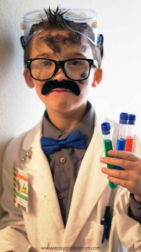 sfumature di Acquista autentico miglior prezzo per DIY Mad Scientist Costume and Scientist Badge Free Printable ...