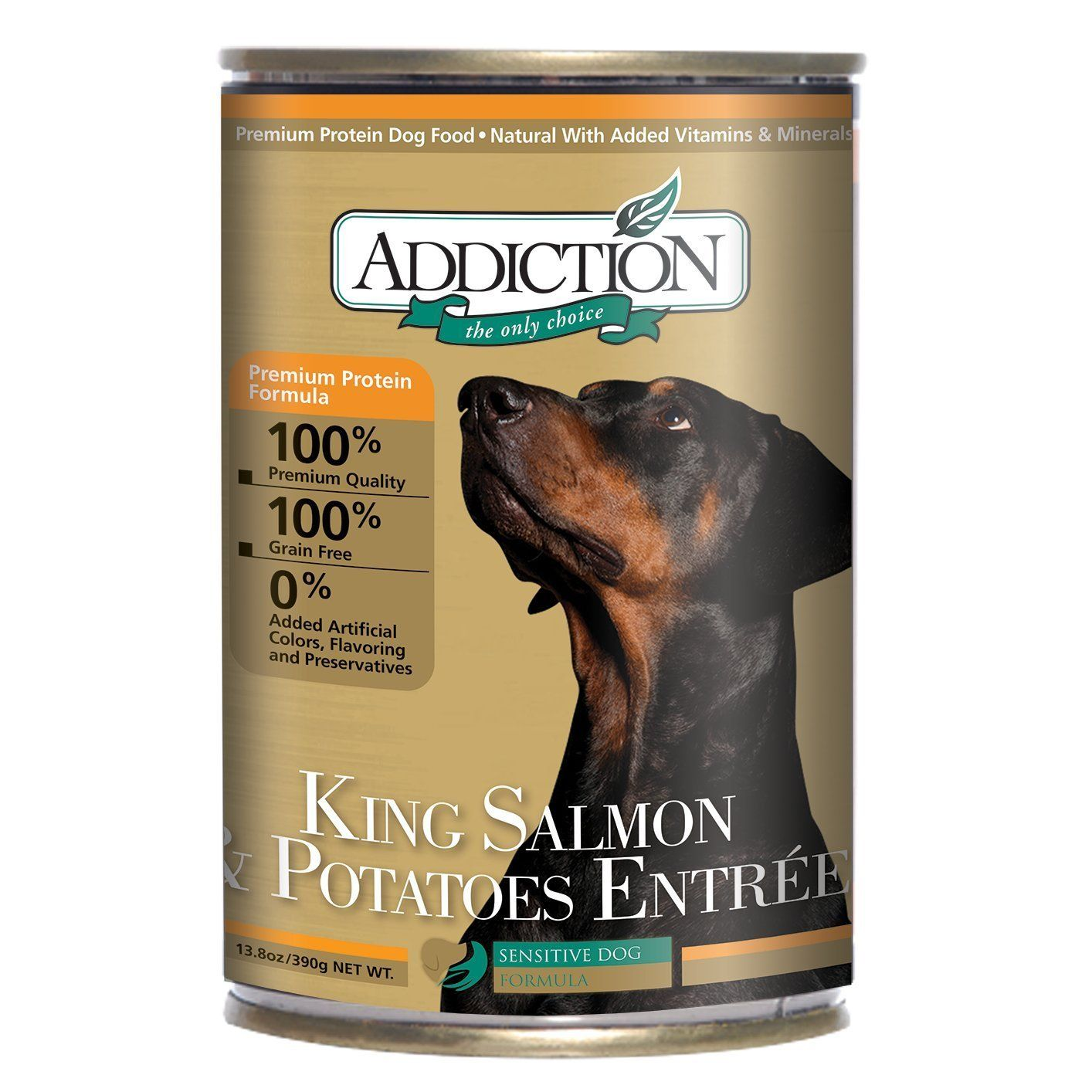 King Salmon And Potatoes Entra C E Dog Food 12 13 8 Ounce Cans