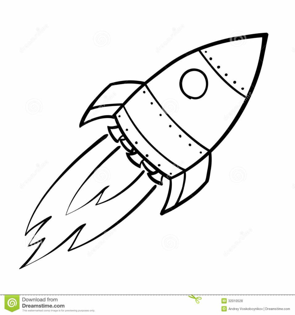 Line Art Rocket : Rocket ship coloring pages space drawing images